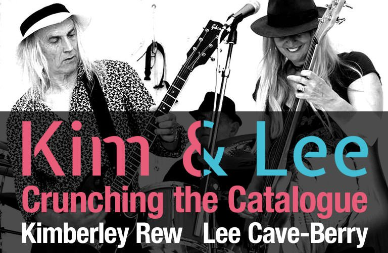 Kim & Lee Crunching the Catalogue YouTube premiere Kim and Lee promo image