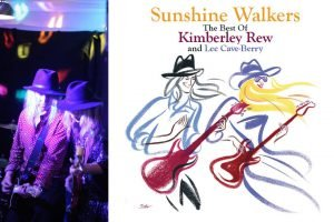 Kimberley Rew and Lee Cave-Berry Sunshine Walkers album review artwork