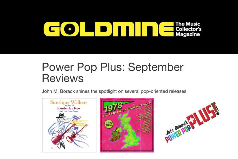 Goldmine magazine review Kim & Lee Sunshine Walkers album