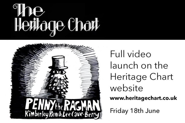 New single Penny The Ragman video launch on The Heritage Chart