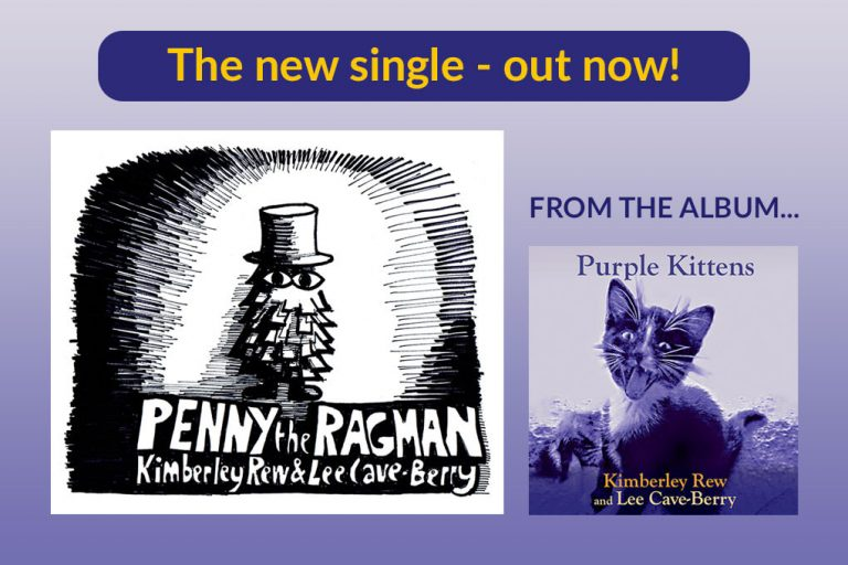 New single Penny The Ragman video launch on YouTube and Songwhip